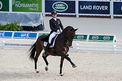 Adrienne Lyle, (USA), Wizard - Grand Prix Special Dressage - Alltech FEI World Equestrian Games™ 2014 - Normandy, France.<br /> © Hippo Foto Team - Leanjo de Koster<br /> 25/06/14