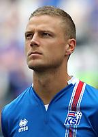 Uefa - World Cup Fifa Russia 2018 Qualifier / <br /> Iceland National Team - Preview Set - <br /> Ragnar Sigurdsson
