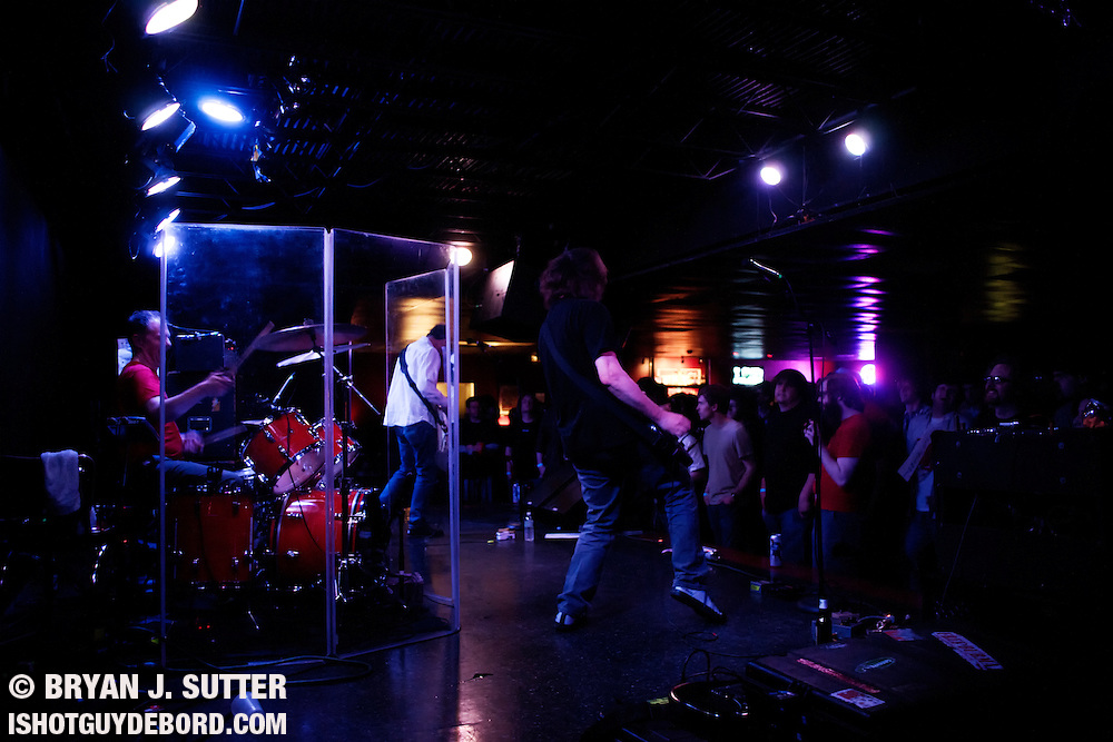 Legendary post-punk band Mission of Burma played their first show in their 30+ year career in Saint Louis at The Firebird on April 4th, 2012! Insane! Local legends The Conformists opened up. Crunchy tunes all around.
