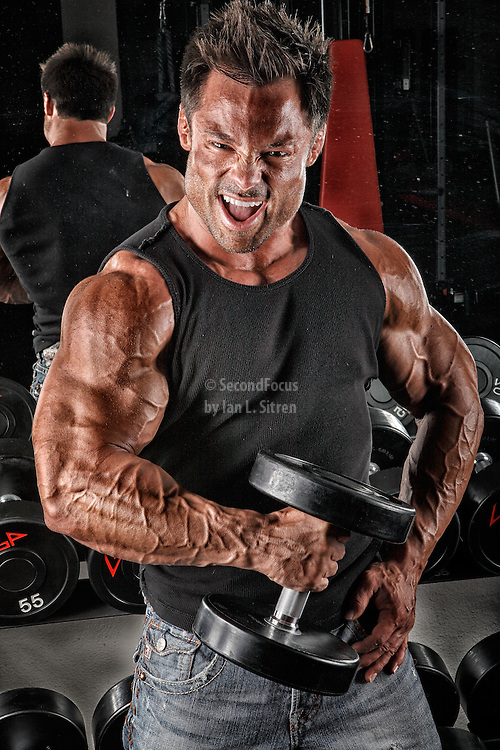 Jake Sawyer In The Gym