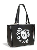 zodiac bag black and white