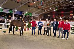 Eldorado van de Zeshoek, Merckx Paul, Nijhof familie, Van den Oetelaar Kees, Lelie Walter<br /> BWP Hengstenkeuring - Lier 2020<br /> © Hippo Foto - Dirk Caremans<br /> 17/01/2020
