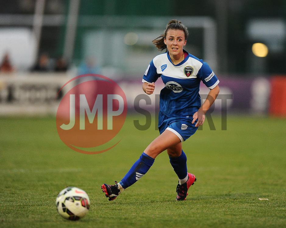 Georgia Evans of Bristol Academy  - Mandatory byline: Dougie Allward/JMP - 07966386802 - 29/08/2015 - FOOTBALL - Stoke Gifford Stadium -Bristol,England - Bristol Academy Women FC v Birmingham City Ladies - FA WSL Continental Tyres Cup