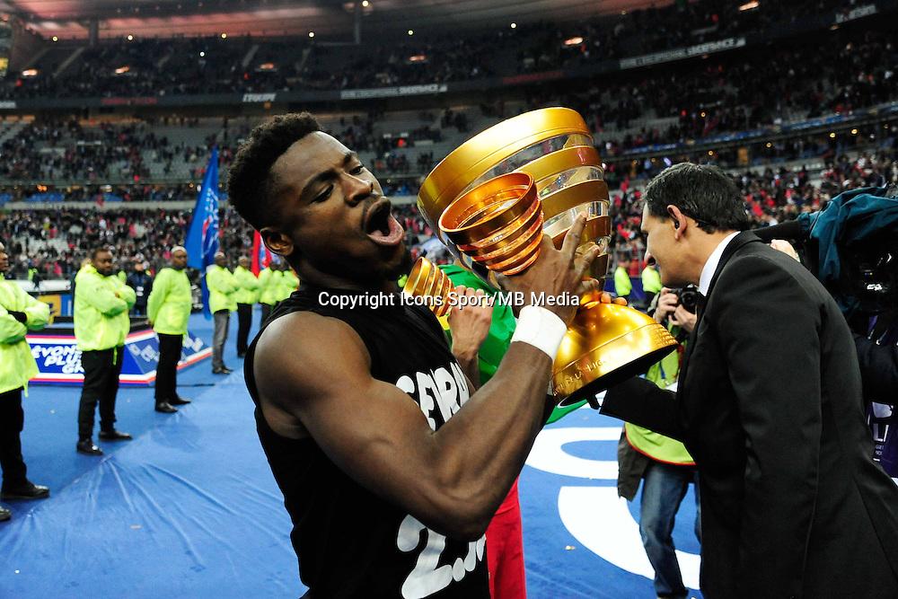 Victoire du PSG / Serge AURIER  - 11.04.2015 -  Bastia / PSG - Finale de la Coupe de la Ligue 2015<br />Photo : Dave Winter / Icon Sport