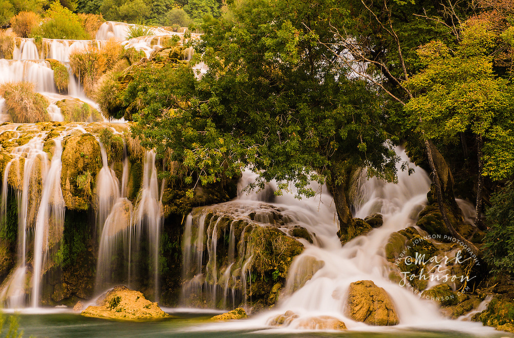 Waterfalls, Krka National Park, Croatia