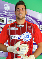 Romain LEJEUNE - 17.09.2013 - Photo Officielle Istres - Ligue 2<br /> Photo : Icon Sport