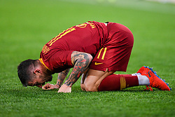 February 3, 2019 - Rome, Rome, Italy - Aleksandar Kolarov of AS Roma looks dejected during the Serie A match between Roma and AC Milan at Stadio Olimpico, Rome, Italy on 3 February 2019. (Credit Image: © Giuseppe Maffia/NurPhoto via ZUMA Press)