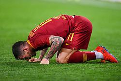 February 3, 2019 - Rome, Rome, Italy - Aleksandar Kolarov of AS Roma looks dejected during the Serie A match between Roma and AC Milan at Stadio Olimpico, Rome, Italy on 3 February 2019. (Credit Image: © Giuseppe Maffia/NurPhoto via ZUMA Press)