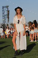 Sheer White Dress, Coachella Day 2