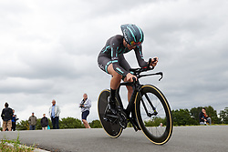 Julie Leth (DEN) at Boels Ladies Tour 2019 - Prologue, a 3.8 km individual time trial at Tom Dumoulin Bike Park, Sittard - Geleen, Netherlands on September 3, 2019. Photo by Sean Robinson/velofocus.com