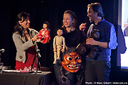 Présentation de la création de   -Le Sentier des rêves – Théâtre Motus (Longueuil) durant le 12e Festival de Casteliers, marionnettes pour adultes et enfants - 2017 à  Theatre Outremont / Montreal / Canada / 2017-03-12, Photo © Marc Gibert / adecom.ca