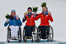 March 16th 2014 - Women's Giant Slalom Medal Ceremony