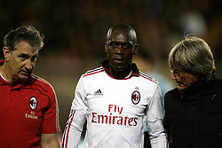 Lecce (LE), 16-01-2011 ITALY - Italian Soccer Championship Day 20 -  Lecce - Milan..Pictured: Seedorf (M)..Photo by Giovanni Marino/OTNPhotos . Obligatory Credit