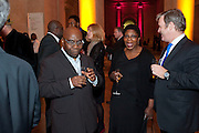 UNCLE; FESTUS OFILI; MOTHER; MAY OFILI, Chris Ofili dinner to celebrate the opening of his exhibition. Tate. London. 25 January 2010