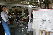 """Eat at Milton's"" restaurant at the Plaka: Modern Greek fusion cuisine."