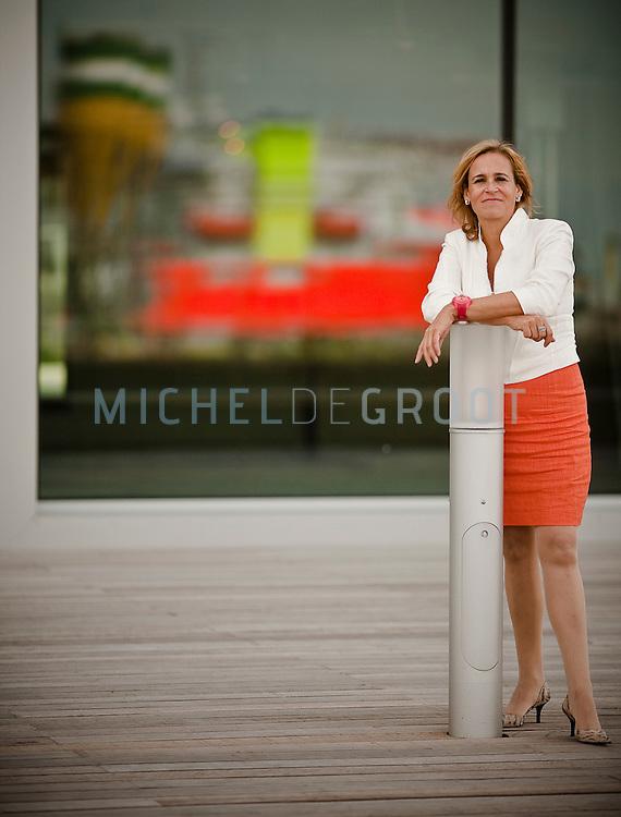 Marjolein Warburg, directeur van Rotterdam Port Promotion Council (RPPC)