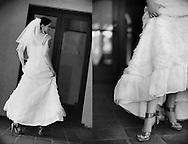 Bridal portrait session.