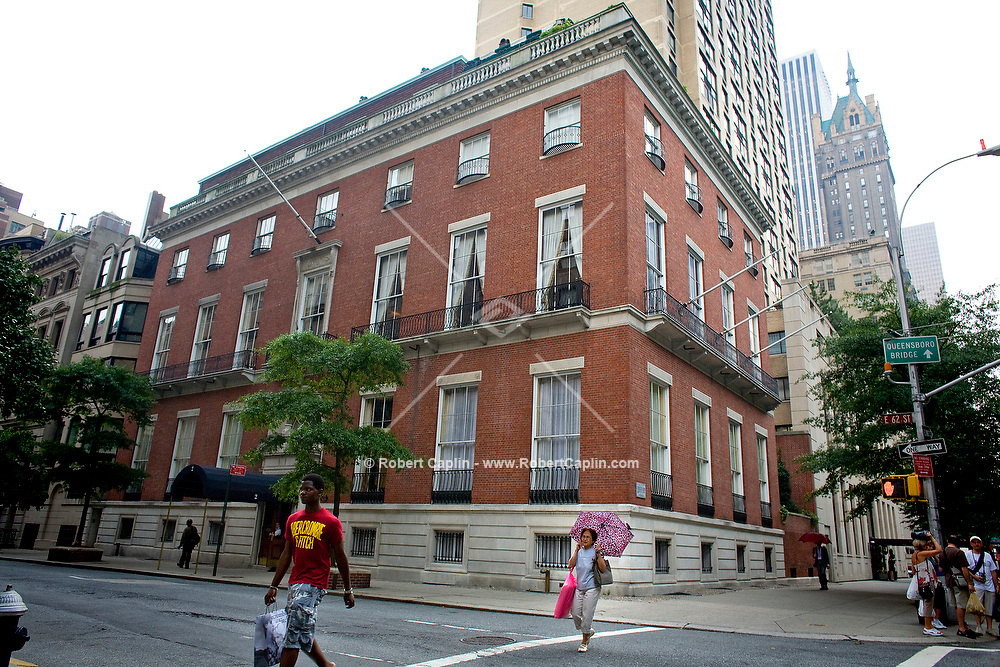 2 East 62nd St., home of the Knickerbocker Club in New York City. July 19, 2007. Robert Caplin For Portfolio.com..