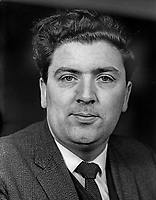 John Hume, MP, Foyle constituency, Londonderry, Independent Nationalist, N Ireland Parliament, Stormont, Belfast, March 1969. 196903000108<br /> <br /> Copyright Image from Victor Patterson,<br /> 54 Dorchester Park, <br /> Belfast, UK, BT9 <br /> <br /> t1: +44 28 9066 1296 (from Rep of Ireland 048 90661296)<br /> t2: +44 28 9002 2446 (from Rep of Ireland 048 9002 2446)<br /> <br /> m: +44 7802 353836<br /> <br /> e: victorpatterson@me.com<br /> www.victorpatterson.com<br /> <br /> Please see my Terms and Conditions of Use at www.victorpatterson.com. It is IMPORTANT that you familiarise yourself with them.<br /> <br /> Images used on the Internet must be visibly watermarked i.e. © Victor Patterson<br /> within the body of the image and copyright metadata must not be deleted. Images <br /> used on the Internet have a size restriction of 4kbs and will be chargeable at current<br />  NUJ rates unless agreed otherwise.<br /> <br /> This image is only available for the use of the download recipient i.e. television station, newspaper, magazine, book publisher, etc, and must not be passed on to any third <br /> party. It is also downloaded on condition that each and every usage is notified within 7 days to victorpatterson@me.com<br /> <br /> The right of Victor Patterson to be identified as the author is asserted in accordance with The Copyright Designs And Patents Act (1988). All moral rights are asserted.