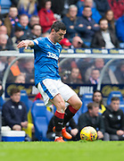7th April 2018, Ibrox Stadium, Glasgow, Scotland; Scottish Premier League football, Rangers versus Dundee; Graham Dorrans of Rangers