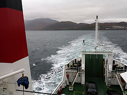 UK SCOTLAND MALLAIG 7OCT13 - Ferry from Mallaig, Lochaber, on the west coast to the Isle of Skye in the Highlands of Scotland. <br /> <br /> jre/Photo by Jiri Rezac<br /> <br /> &copy; Jiri Rezac 2013