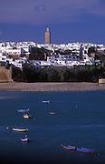 View towards the Medinah,Rabat, Morocco