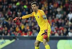 March 23, 2019 - Valencia, Valencia, Spain - Jarstein of Norway in action during European Qualifiers championship, , football match between Spain and Norway, March 23th, in Mestalla Stadium in Valencia, Spain. (Credit Image: © AFP7 via ZUMA Wire)