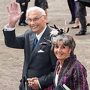 NLD/Den Haag/20190917 - Prinsjesdag 2019, Hans van den Broek en partner Josee van Schendel