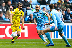 Edward Upson of Bristol Rovers takes on Liam Kelly of Coventry City - Mandatory by-line: Robbie Stephenson/JMP - 07/04/2019 - FOOTBALL - Ricoh Arena - Coventry, England - Coventry City v Bristol Rovers - Sky Bet League One