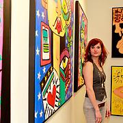 NLD/Amsterdam/20110324 - Opening Hers and His expositie van Eddy Zoey, partner Marieke Hulsegge