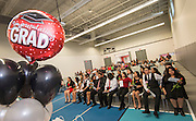 Students and staff check out the new North Houston Early College High School during Senior recognition ceremonies, May 24, 2016
