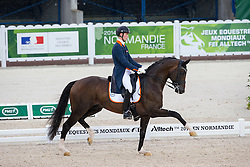 Diederik van Silfhout, (NED),  Arlando TN N.O.P. - Grand Prix Team Competition Dressage - Alltech FEI World Equestrian Games™ 2014 - Normandy, France.<br /> © Hippo Foto Team - Leanjo de Koster<br /> 25/06/14