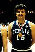 Europei Francia 1983 - Nantes: Romeo Sacchetti medaglia d'oro