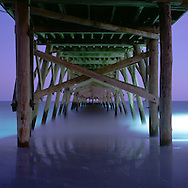 The Surfside Beach Pier in Surside Beach, South Carolina.