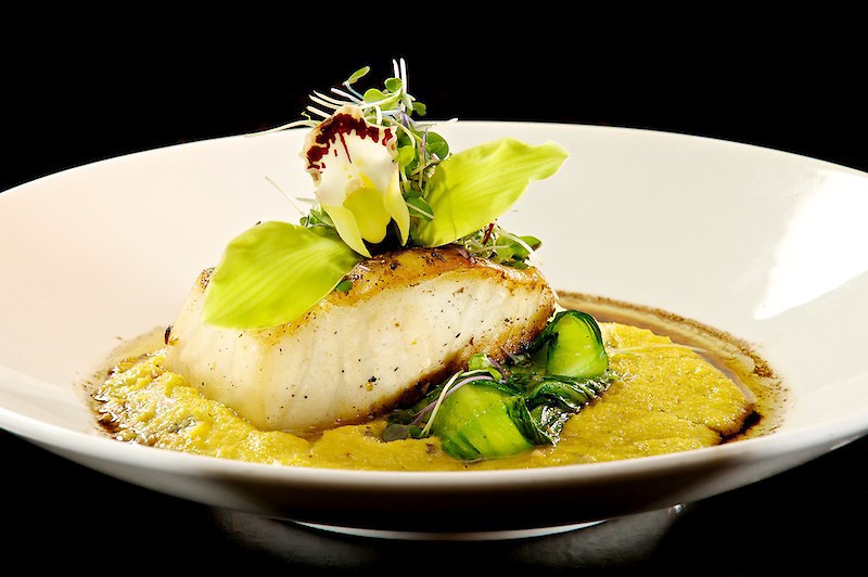 Chilean Sea Bass prepared by Executive Chef Terrence Cave of Nisen Sushi