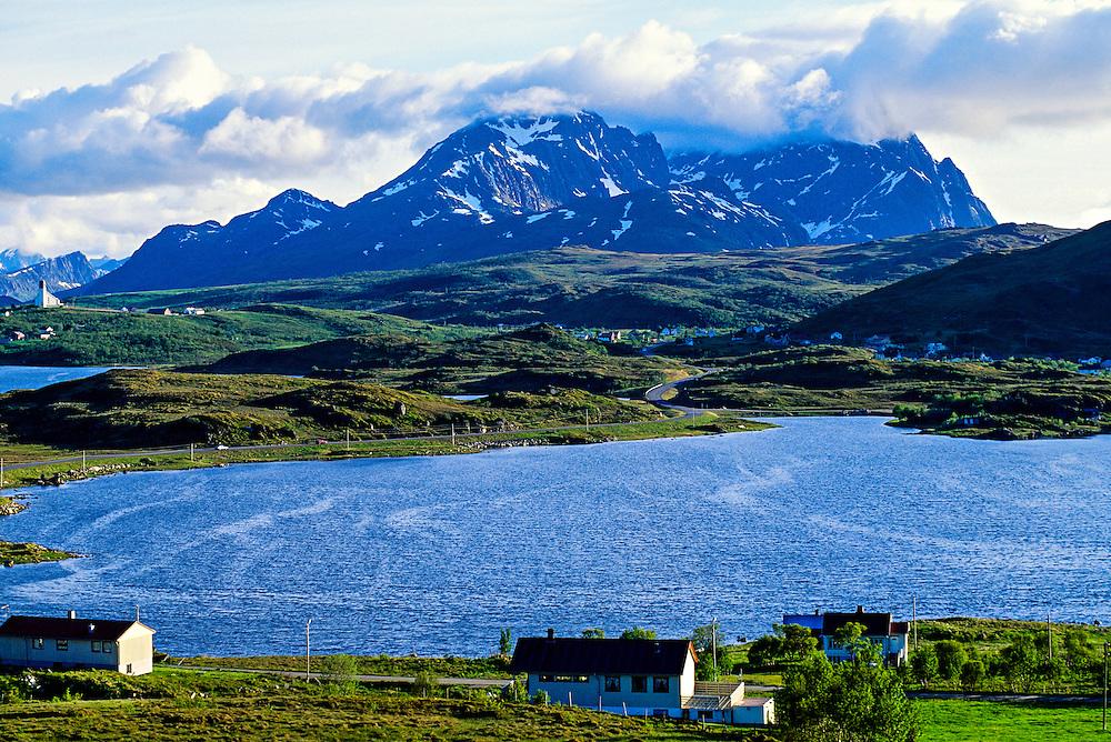 Lofoten Islands, near Stamsund, Arctic, Northern Norway
