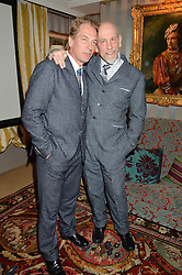 Left to right, JULIAN SANDS and JOHN MALKOVICH at a private screening of 'A Postcard From Istanbul' directed by John Malkovich In Collaboration With St. Regis Hotels & Resorts held at 5 Hertford Street, London on 3rd March 2015