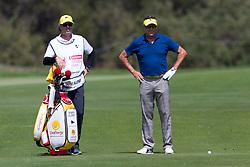 November 15, 2018 - Sydney, NSW, U.S. - SYDNEY, AUSTRALIA - NOVEMBER 15: Robert Allenby (AUS) waits to play his second shot at Day 1 of The Emirates Australian Open Golf on November 15, 2019, at The Lakes Golf Club in Sydney, Australia. (Photo by Speed Media/Icon Sportswire) (Credit Image: © Speed Media/Icon SMI via ZUMA Press)