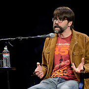 Joe Hill speaks at The Music Hall, May 16, 2016