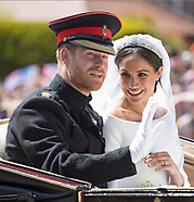 Meghan Markle & Prince Harry Wedding Procession