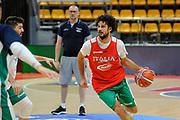 Vitali Michele<br /> Nazionale Senior maschile<br /> Allenamento<br /> World Qualifying Round 2019<br /> Bologna 13/09/2018<br /> Foto  Ciamillo-Castoria / M. Longo