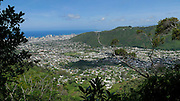 Manoa Valley from Wa'ahila Ridge, St Louis Heights, Honolulu, Oahu, Hawaii