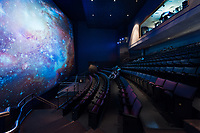Interior photo of the Edward St. John Dinosaur Hall at the Maryland Science Center in Baltimore by Jeffrey Sauers of Commercial Photographics, Architectural Photo Artistry in Washington DC, Virginia to Florida and PA to New England