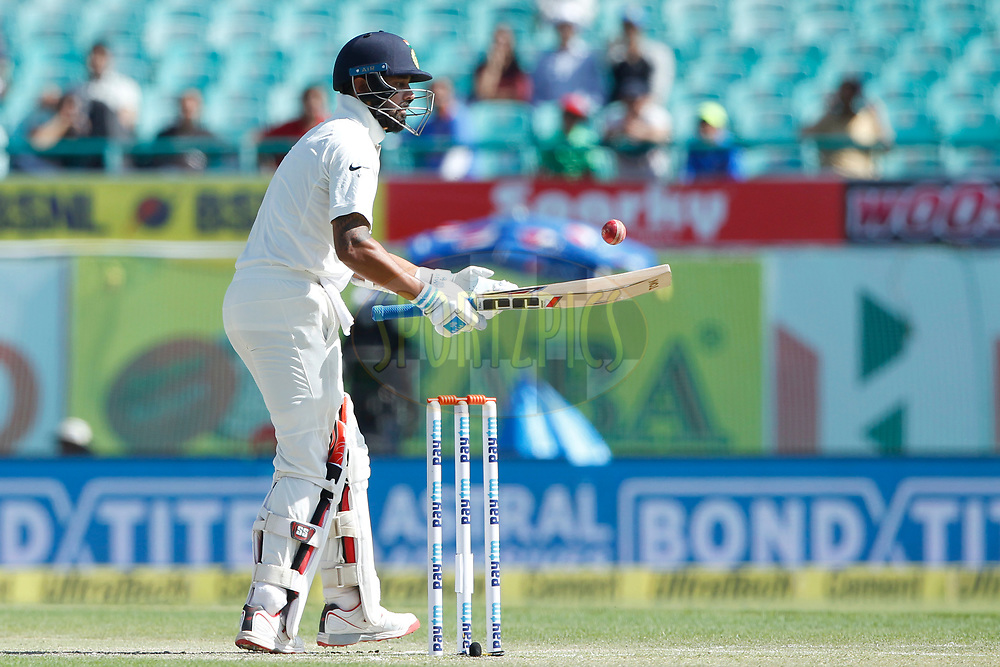 Murali Vijay of India during day two of the fourth test match between India and Australia held at the Himachal Pradesh Cricket Association Stadium on the 26th March 2017.<br /> <br /> Photo by: Deepak Malik/ BCCI/ SPORTZPICS