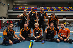 20-04-2019 NED: Dirk Kuyt Foundation Cup, Veenendaal<br /> National Cup sitting volleyball in Veenendaal / Allvo I
