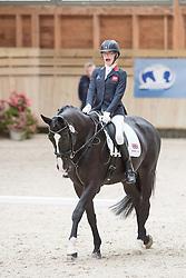Christiansen Sophie, (GBR), Athene Lindebjerg<br /> Grade Ia Team Test<br /> Para-Dressage FEI European Championships Deauville 2015<br /> © Hippo Foto - Jon Stroud<br /> 18/09/15