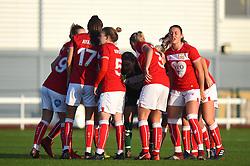 Bristol City Women prepare to face Liverpool FC Women in WSL1 - Mandatory by-line: Paul Knight/JMP - 17/11/2018 - FOOTBALL - Stoke Gifford Stadium - Bristol, England - Bristol City Women v Liverpool Women - FA Women's Super League 1