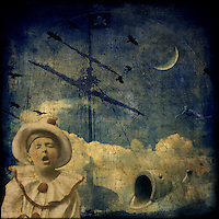 A young pierrot dreams of adventure on the high seas.