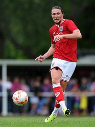 Luke Ayling of Bristol City - Photo mandatory by-line: Dougie Allward/JMP - Mobile: 07966 386802 - 05/07/2015 - SPORT - Football - Bristol - Brislington Stadium - Pre-Season Friendly