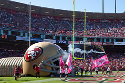 Oct 30, 2011; San Francisco, CA, USA; General view of Candlestick Park before the game between the San Francisco 49ers and the Cleveland Browns. San Francisco defeated Cleveland 20-10. Mandatory Credit: Jason O. Watson-US PRESSWIRE